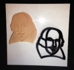 Shakespeare Cookie Cutter