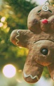 Handmade Clay Gingerbread Man