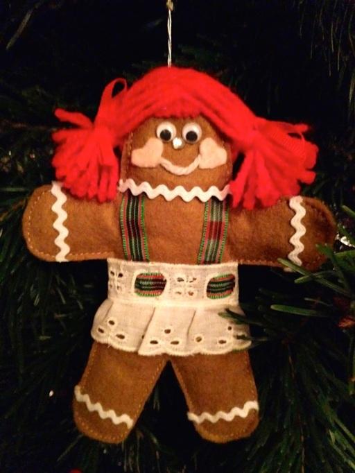 Handmade UGLY Gingerbread Girl