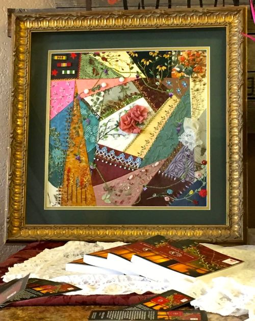 Nancy's Crazy Quilt Creation