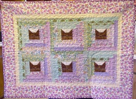 Kitty in the Cabin Quilt