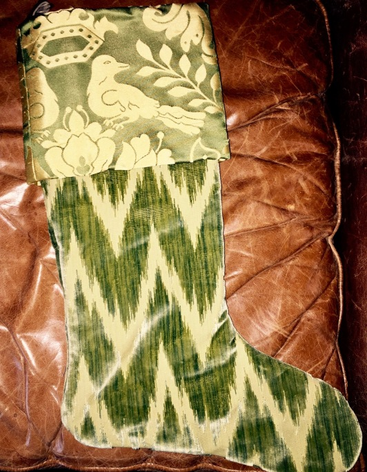 Pam's Green Stocking.1